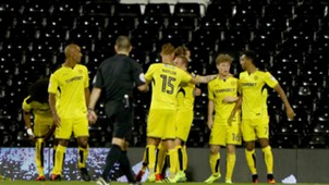 Jackson Irvine Fulham v Burton Albion Championship 13092016