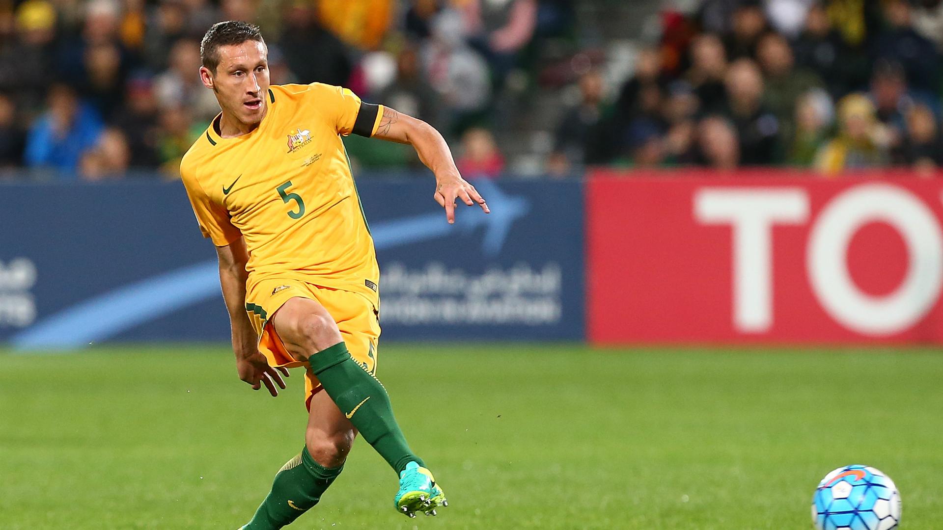 Mark Milligan Australia v Iraq World Cup qualifying 01092016