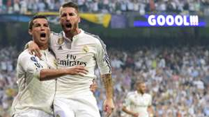 Sergio Ramos Cristiano Ronaldo Real Madrid 2014-15