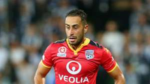 Tarek Elrich Melbourne Victory v Adelaide United A-League 19022016