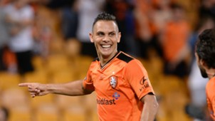 Jade North Brisbane Roar v Newcastle Jets A-league 12022016