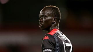 Awer Mabil Newcastle Jets v Adelaide United A-League 19122014