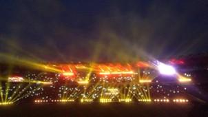Kemeriahan Final Piala Bhayangkara antara Persib Bandung & Arema Cronus Di Gelora Bung Karno