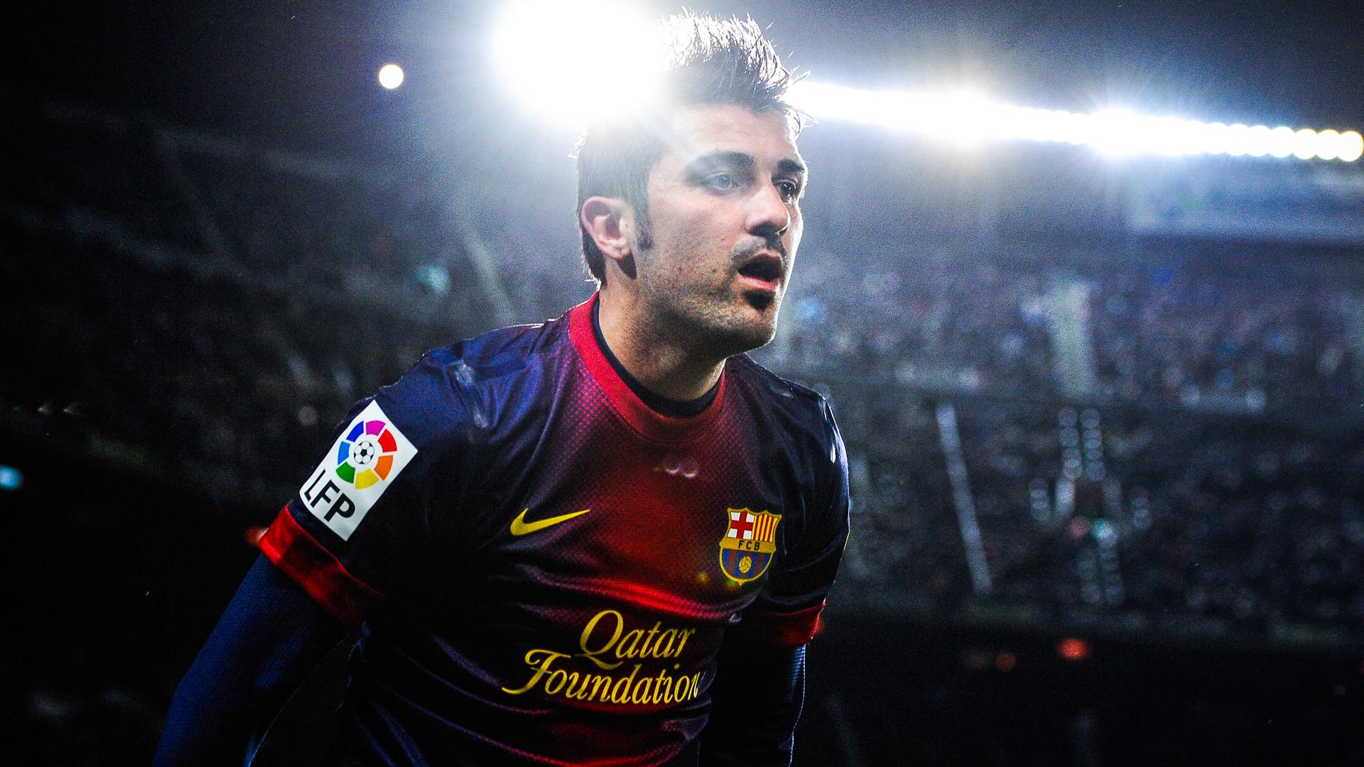 David Villa Barcelona La Liga