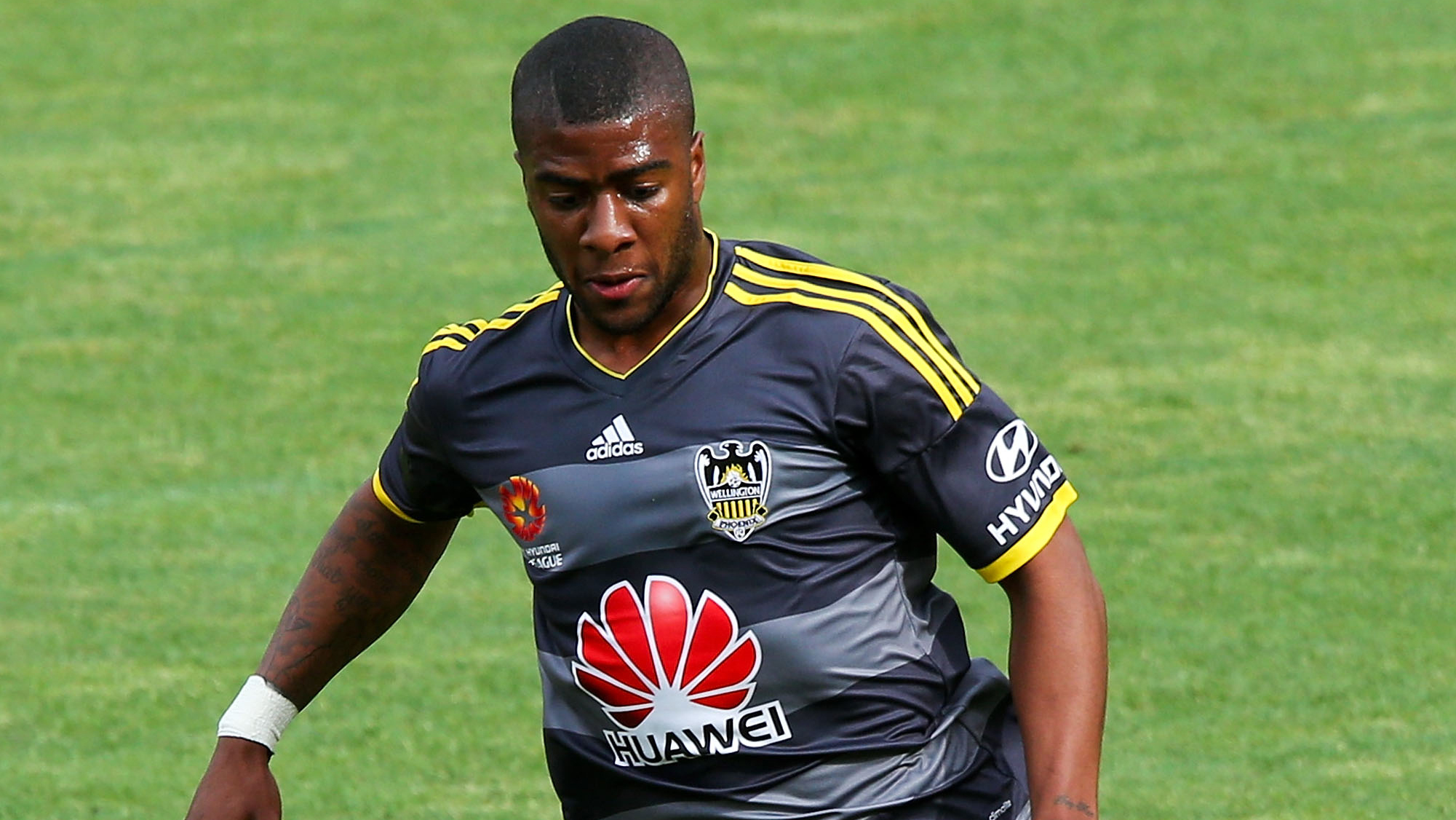 Roly Bonevacia Wellington Phoenix A-League 2014-15