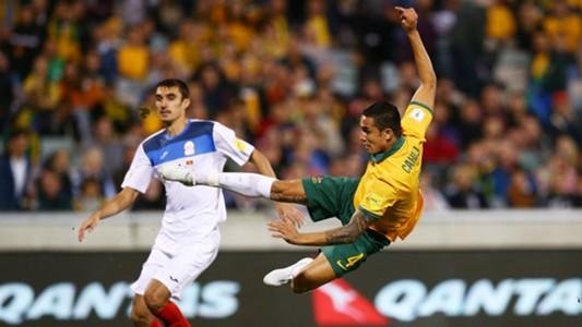 Tim Cahill Australia v Kyrgyzstan World Cup Qualifying 12112015