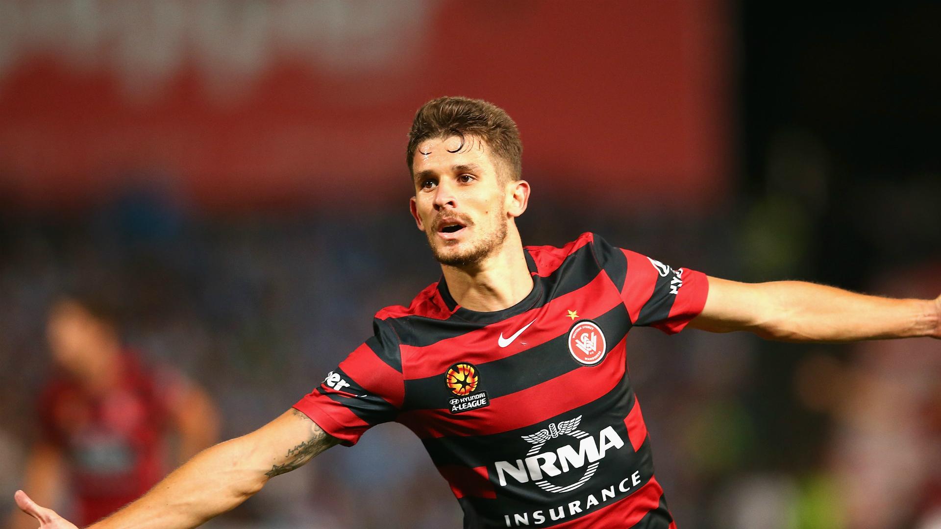 Dario Vidosic Western Sydney Wanderers v Sydney FC A-League 16012016
