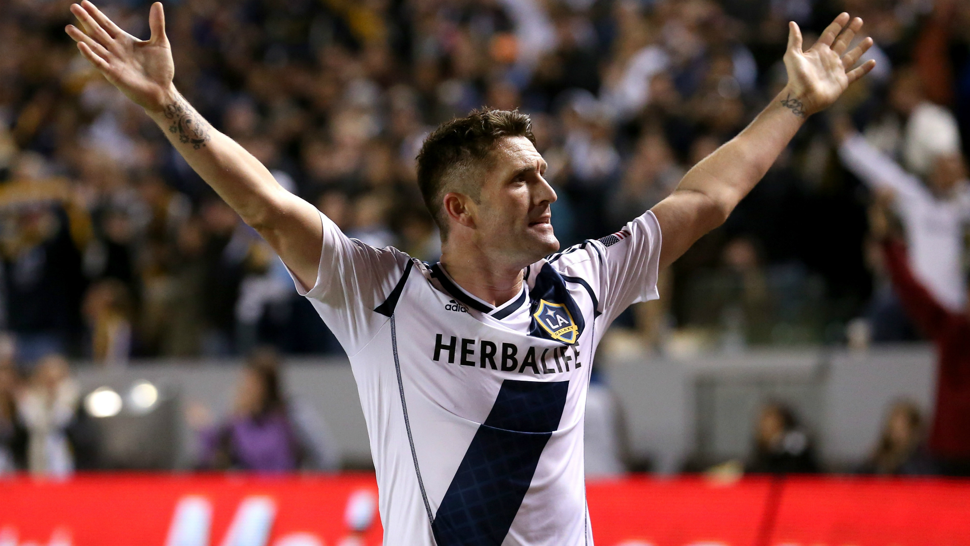 Robbie Keane Seattle Sounders v LA Galaxy MLS 11112012