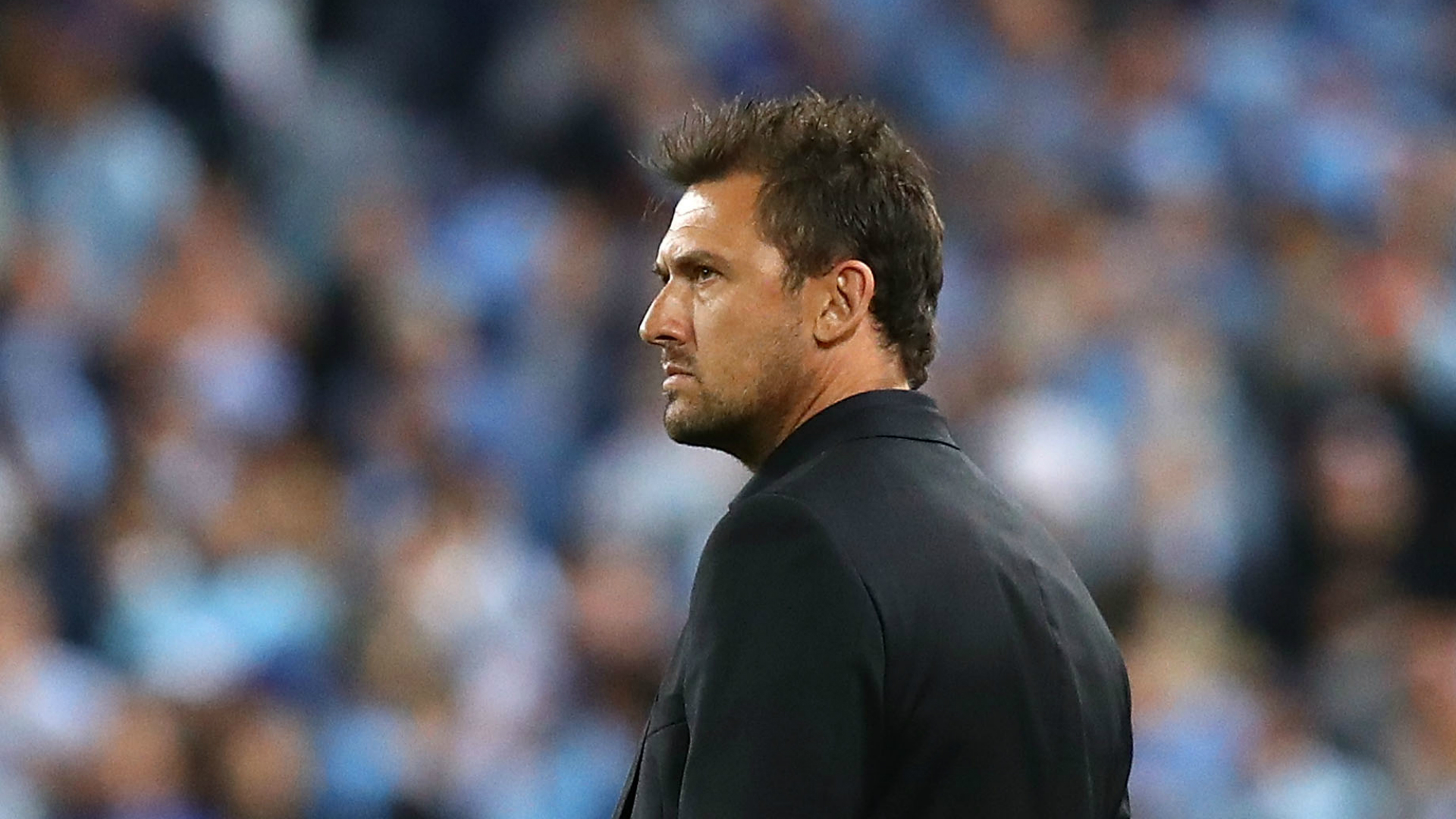 Tony Popovic Western Sydney Wanderers v Sydney FC A-League 08102016