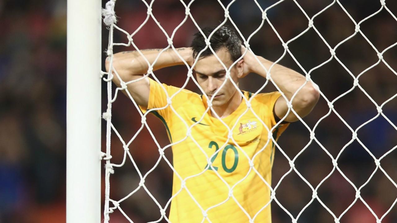 Trent Sainsbury Thailand v Australia World Cup qualifying 16112016