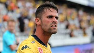 Fabio Ferreira Central Coast Mariners A-League 2014-15