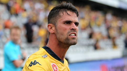 Fabio Ferreira Central Coast Mariners A-League 2014-15