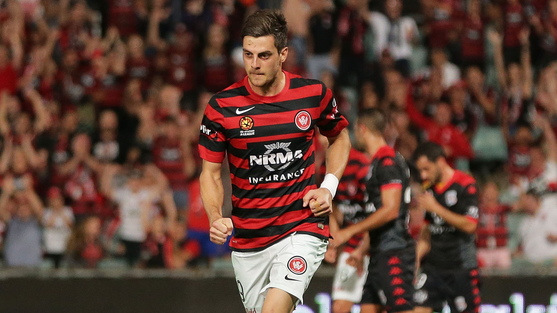 Tomi Juric Western Sydney Wanderers A-League 2014-15
