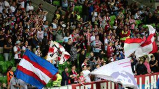 Melbourne City Fans Melbourne City v Wellington Phoenix A-League 12042015