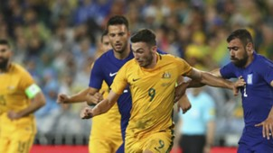 Apo Giannou Australia v Greece Friendly 04062016