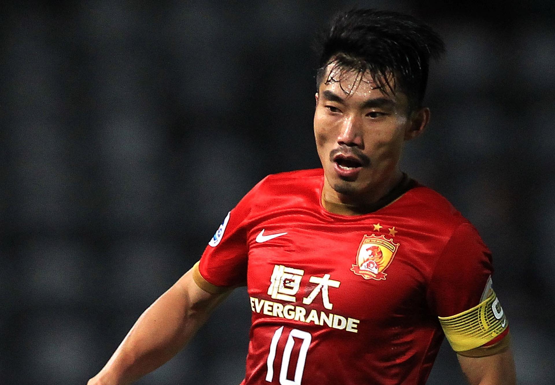 Zheng Zhi Guangzhou Evergrande AFC Champions League 27082014
