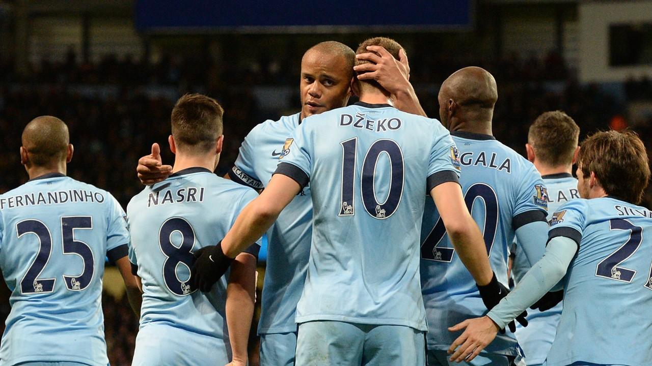 Vincent Kompany Manchester City Premier League 2014-15