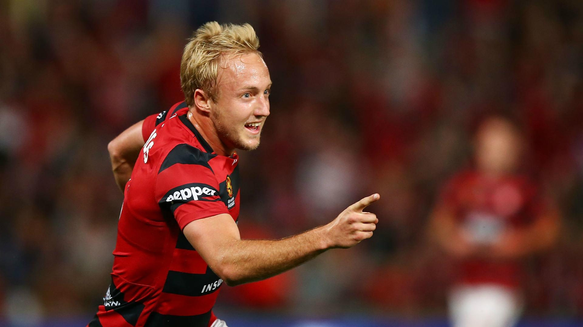 Mitch Nichols Western Sydney Wanderers A-League