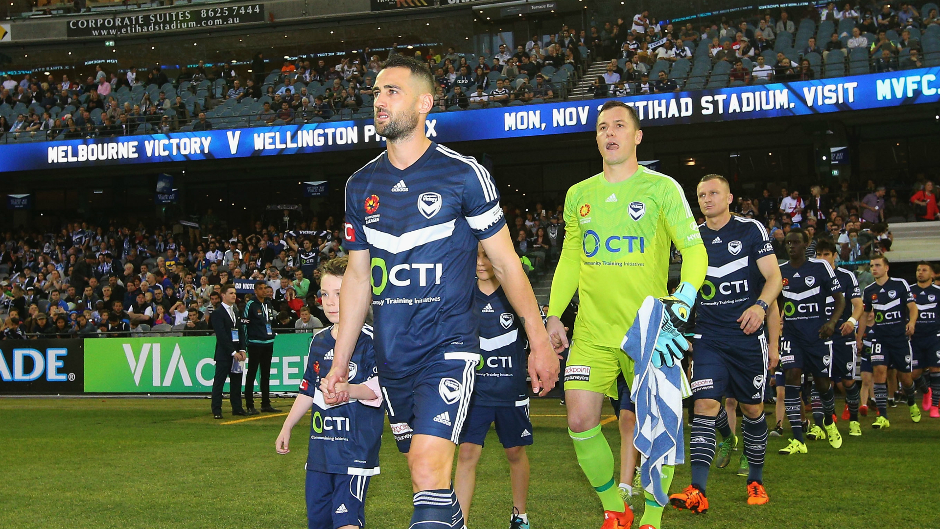 Carl Valeri Melbourne Victory v Melbourne City A-League 17102015