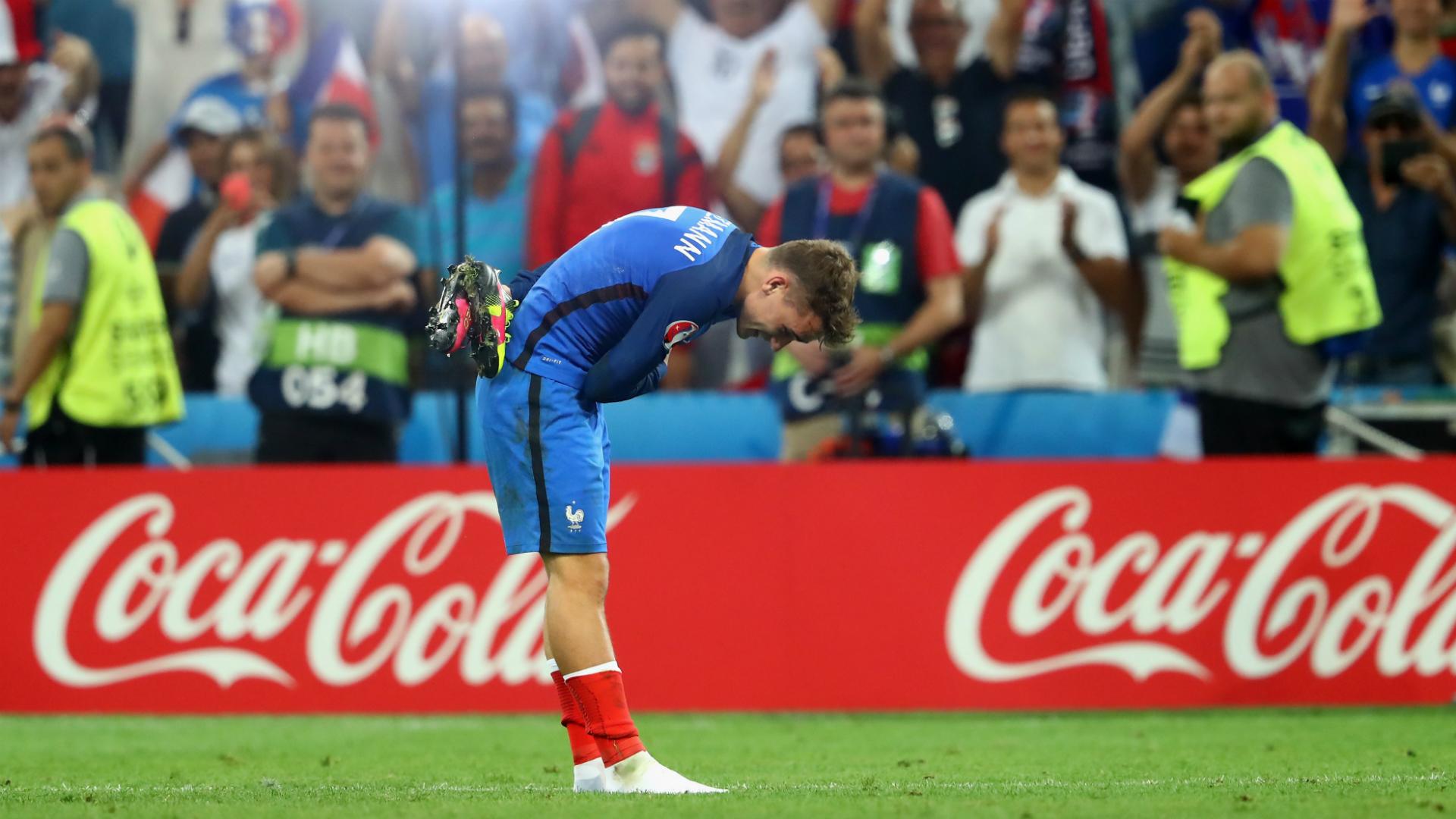 Antoine Griezmann Germany v France Euro 2016 07072016