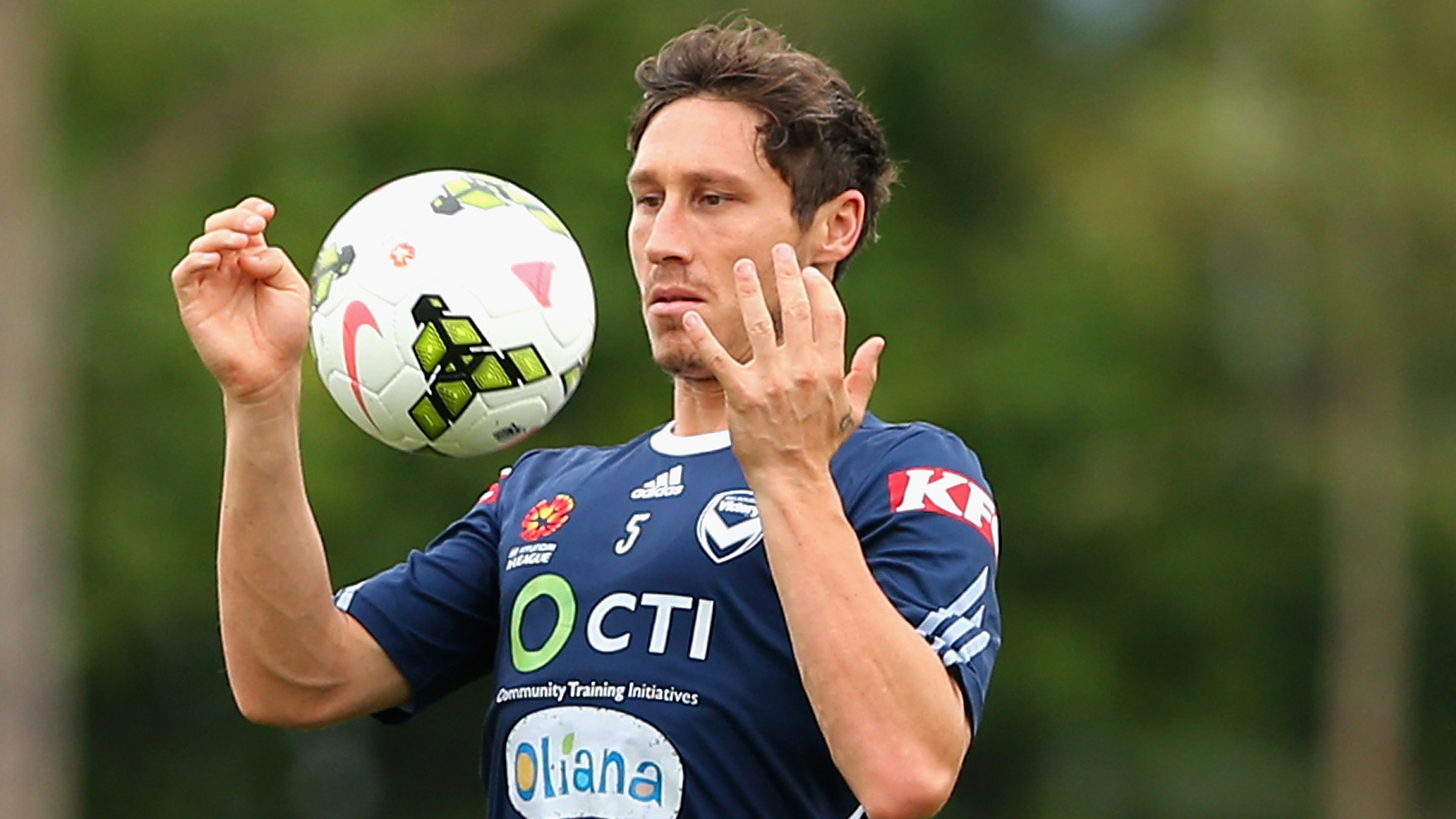 Mark Milligan Melbourne Victory A-League 2014-15