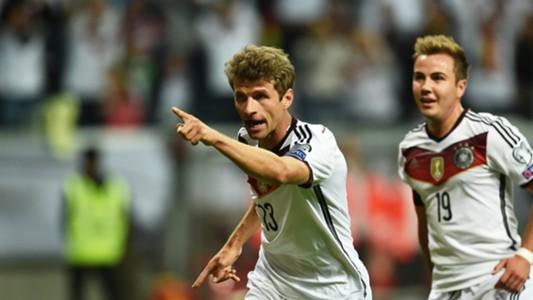 Thomas Muller Germany v Poland Euro 2016 Qualification 04092015