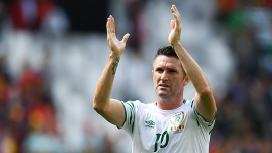 Robbie Keane Belgium v Republic of Ireland Euro 2016 18062016