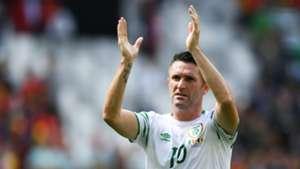 Robbie Keane Belgium v Republic of Ireland Euro 2016 18062016