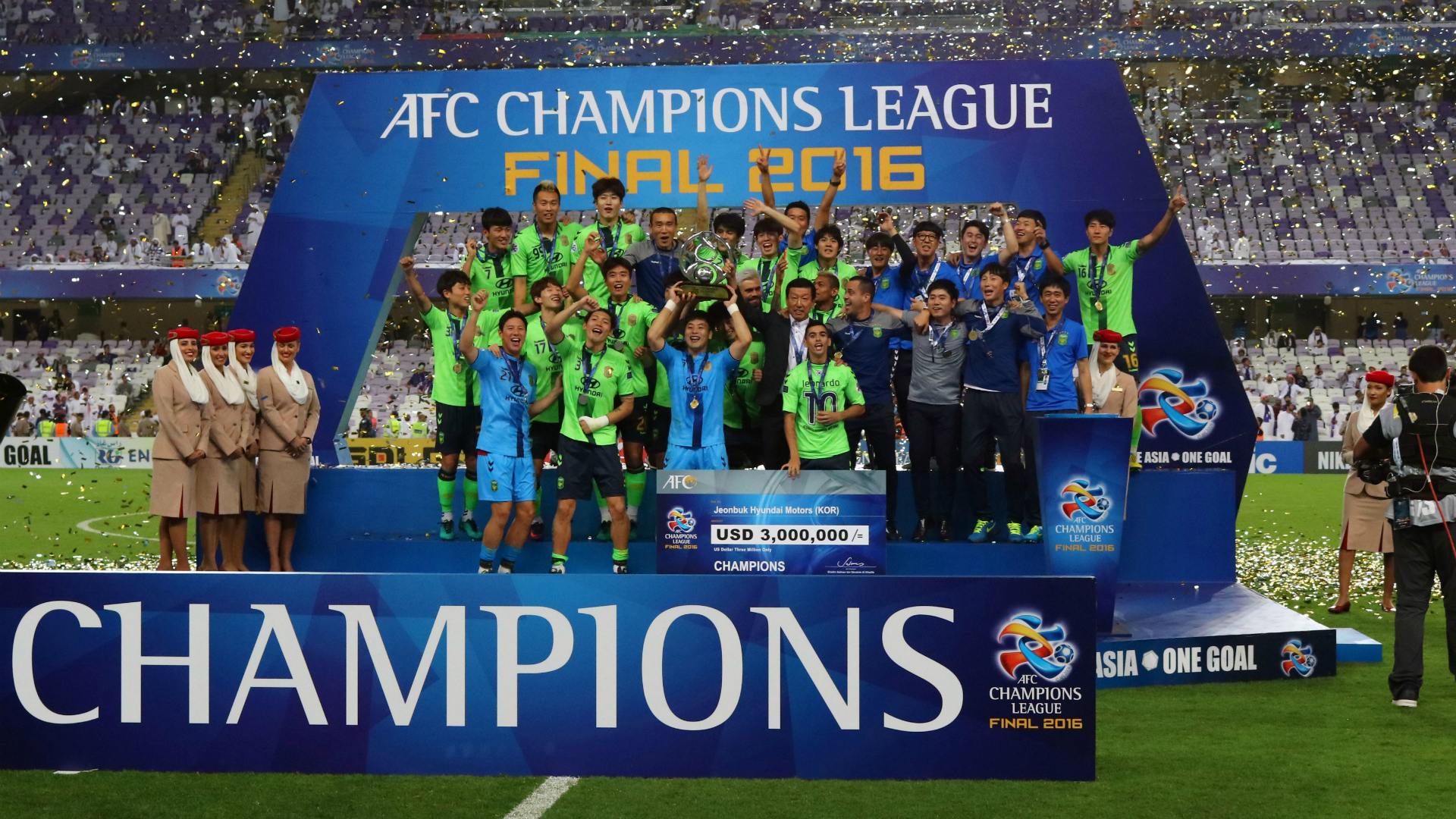 Jeonbuk Motors AFC Champions League 26112016