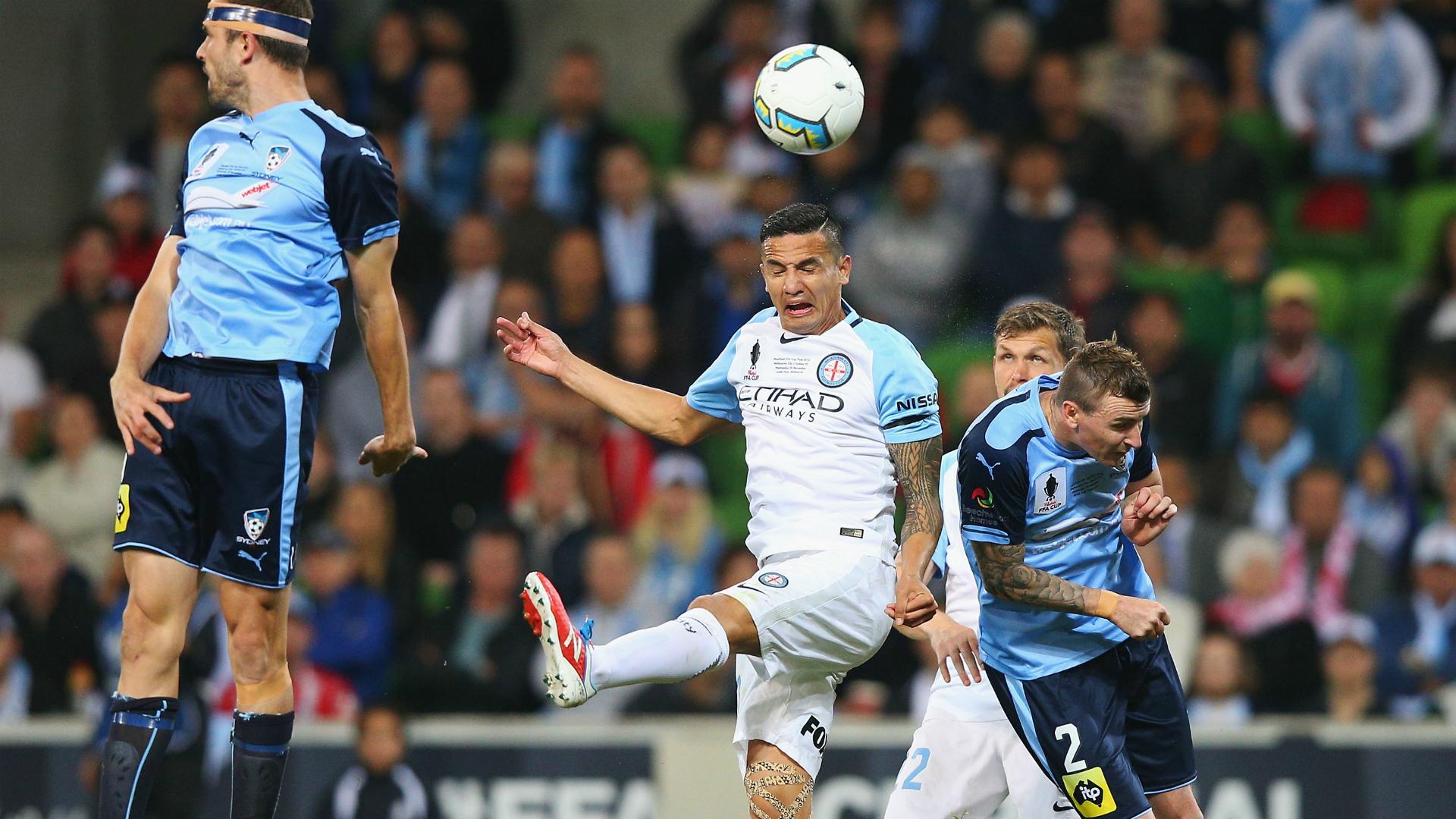 Tim Cahill Melbourne City v Sydney FC FFA Cup Final 30112016
