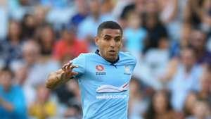 Ali Abbas Sydney FC v Newcastle Jets A-League 09012016