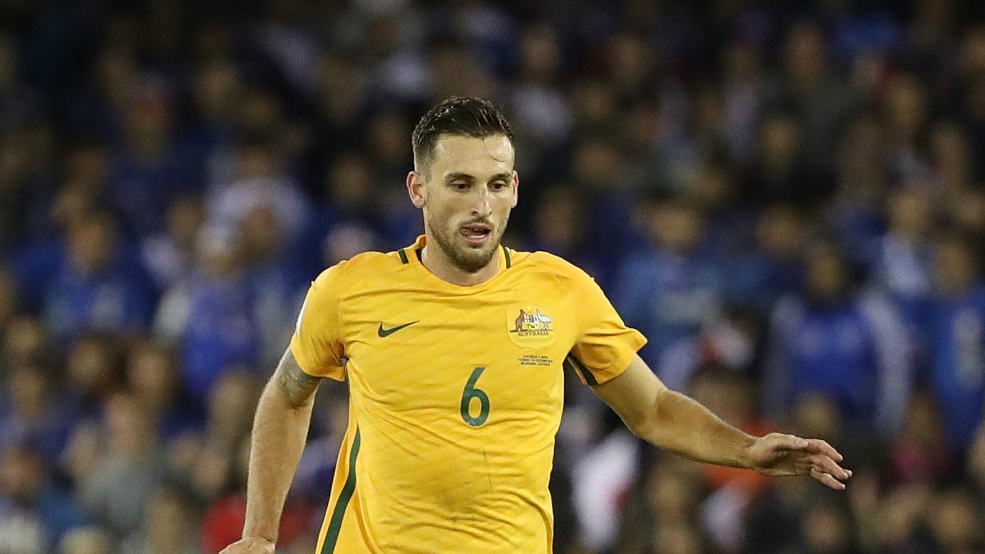 Matthew Spiranovic Australia v Japan World Cup qualifying 11102016