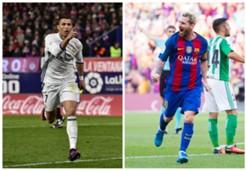 Cristiano Ronaldo Real Madrid Lionel Messi Barcelona La Liga