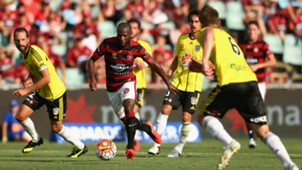 Romeo Castelen Western Sydney Wanderers v Wellington Phoenix A-League 14022016