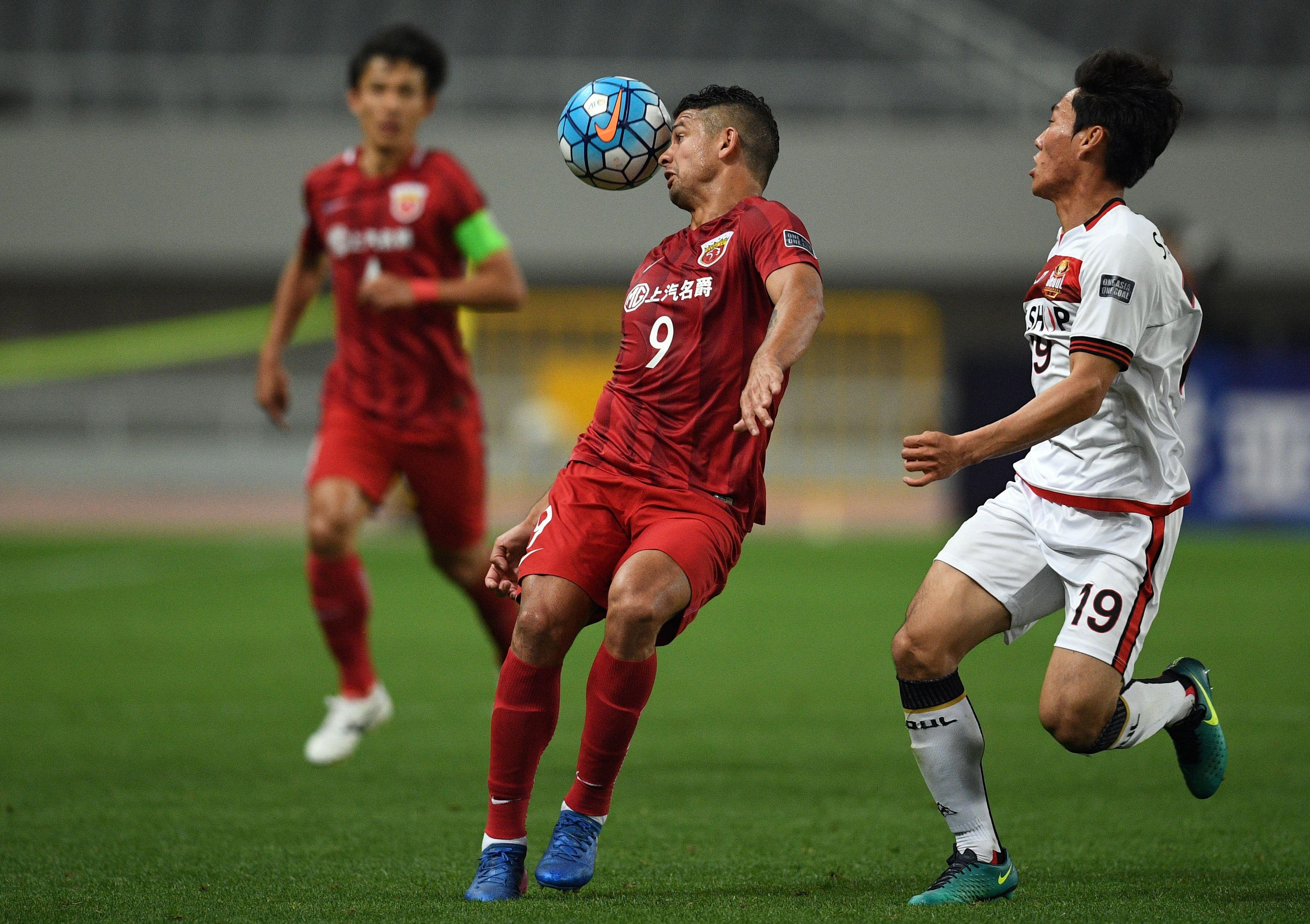 上海上港vs首尔FC 埃尔克森