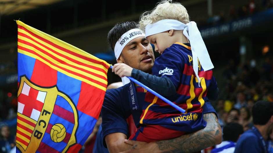 Neymar Barcelona djeca 06062015