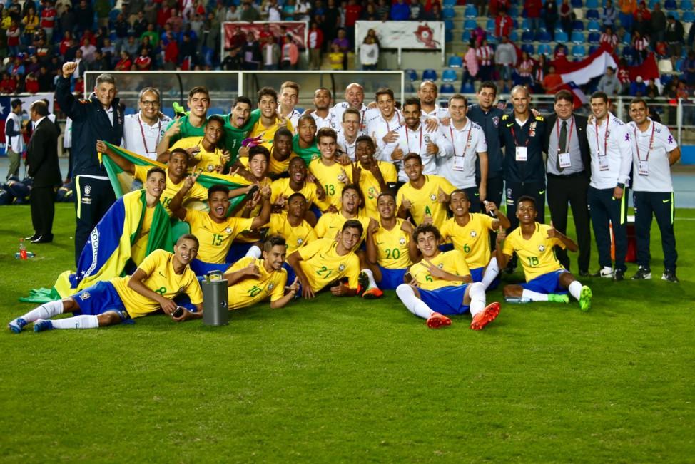 Comissão técnica Seleção Sub-17