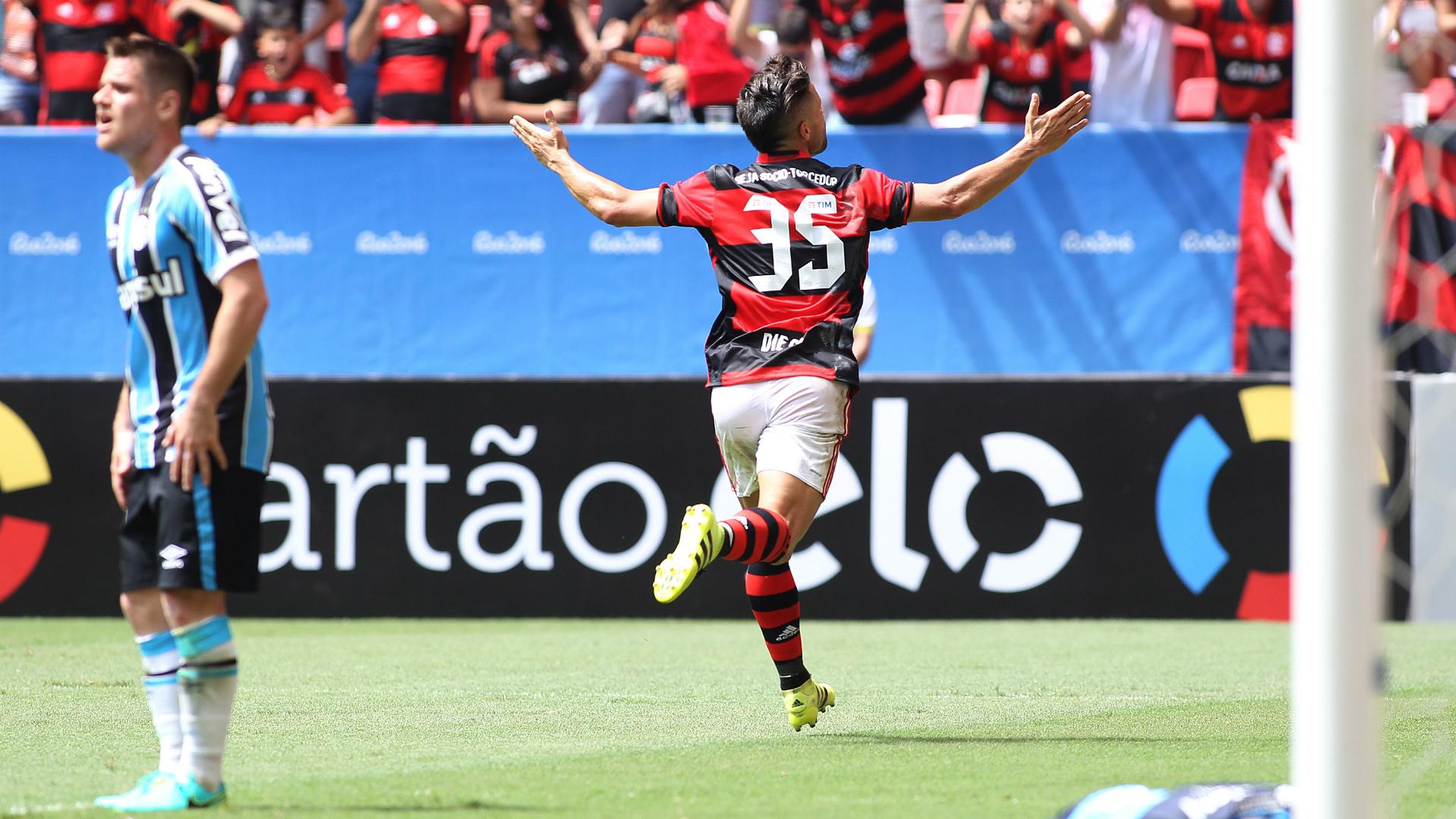 Diego, Flamengo 2 x 1 Grêmio 21082016