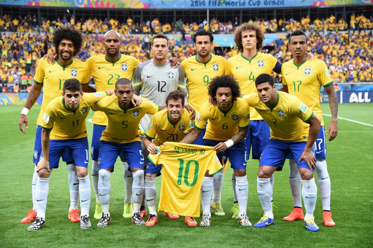 GALLERY ONLY Brazil x Germany World Cup 2014 Squad