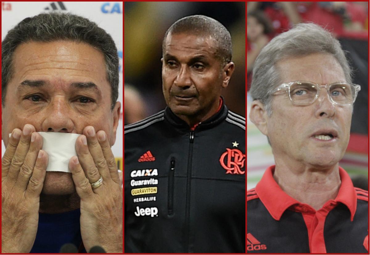 GFX Luxemburgo Cristóvão Oswaldo de Oliveira técnicos Flamengo 2015