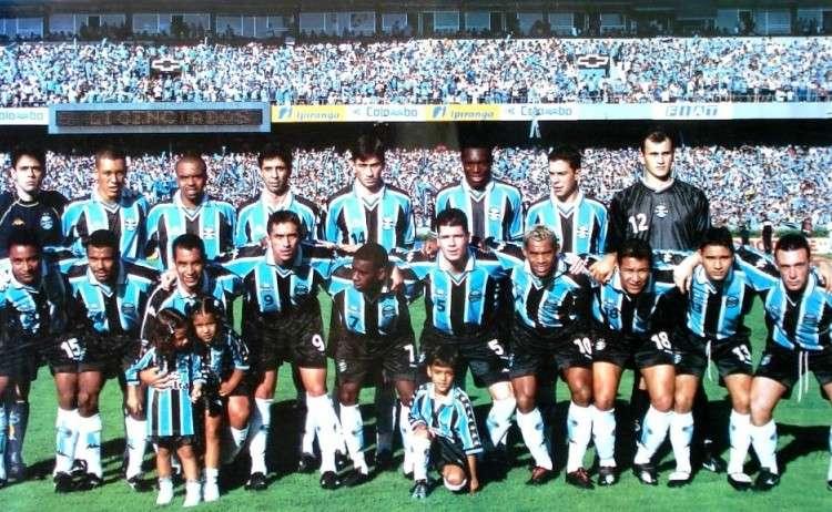 Grêmio campeão gaúcho de 2001