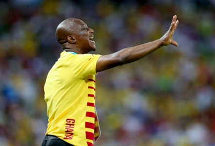 Kwesi Appiah - Germany vs Ghana - World Cup 210614