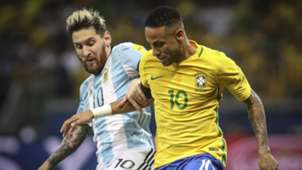 Neymar Messi Brasil Argentina Eliminatorias 2018 10112016