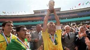 Dunga Brazil 1994 World Cup champion Rose Bowl Pasadena 17071994