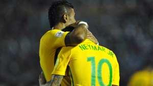 Neymar Paulinho Uruguai Brasil Eliminatorias 2018 23032017