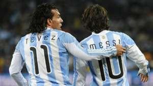 Messi Tevez Argentina