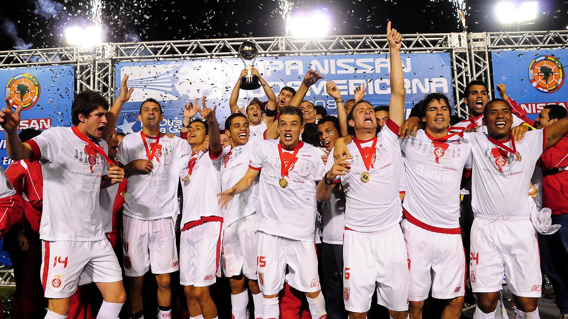 D'alessandro Internacional Campeão Sudamericana 2008