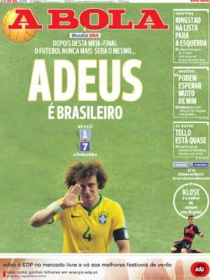 Capas 7 a 1 A Bola Portugal