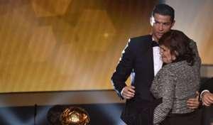 Cristiano Ronaldo and Dolores Aveiro