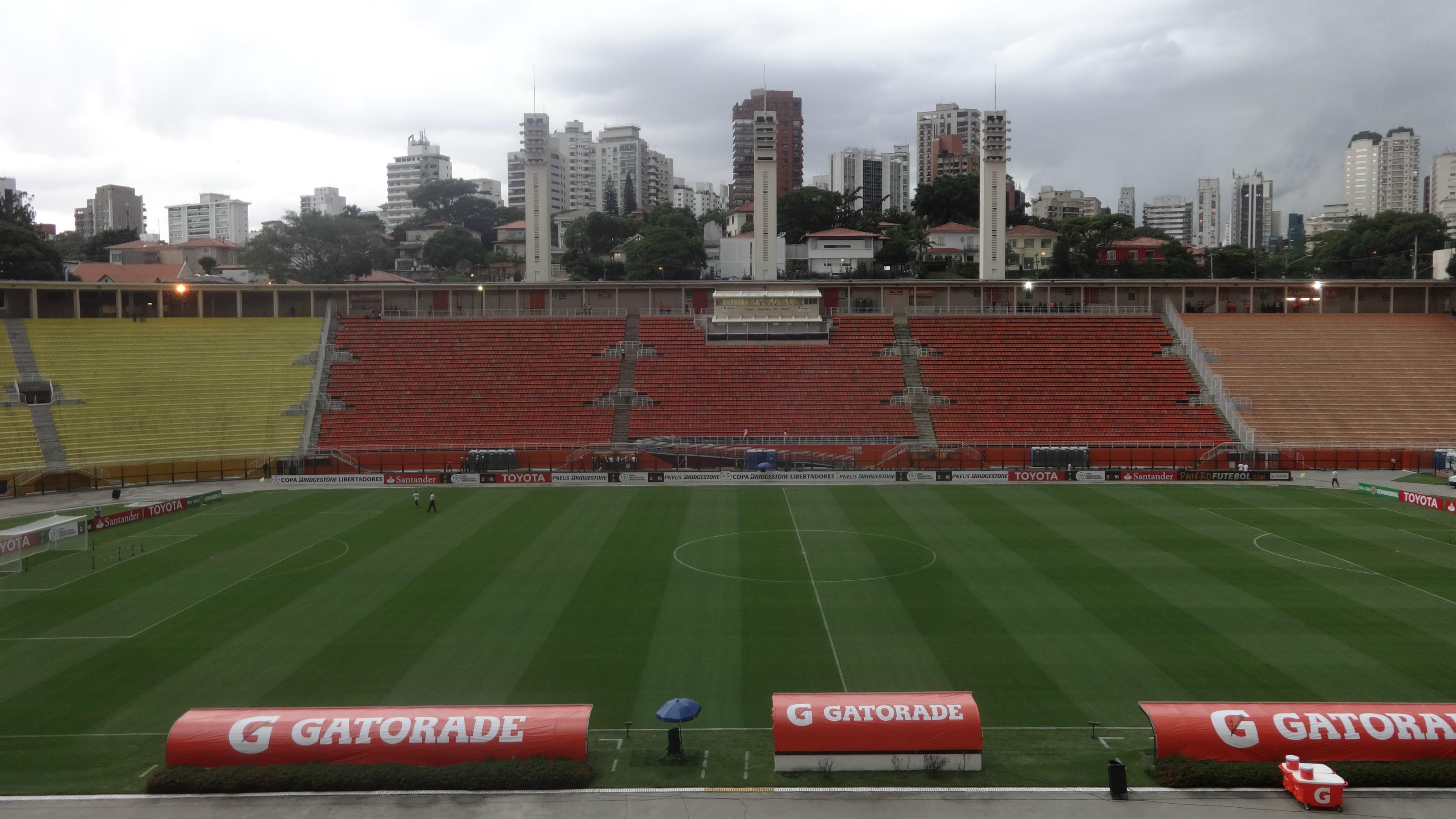 São Paulo x The Strongest - Pacaembu